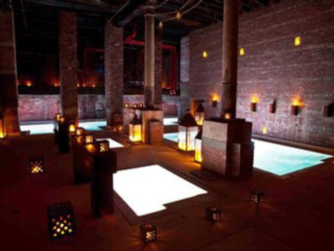 a roman bath revival with new york s latest spa aire