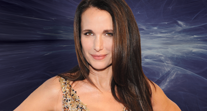 Andie MacDowell fitness