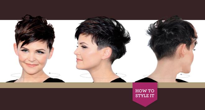 Ginnifer Goodwin Hair Styling Tips
