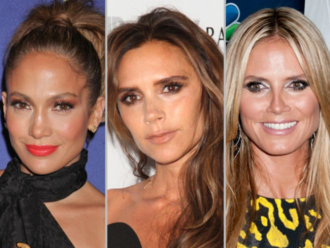 Overplucked Eyebrows 40 Celebrities Offer This Cautionary