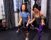 Get a Full Body Workout With Resistance Bands