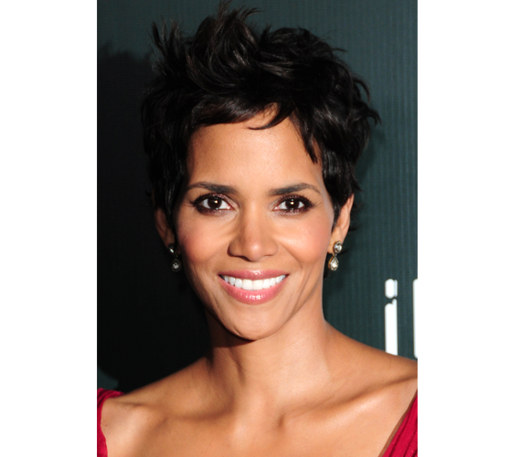 Halle Berry's face looks so