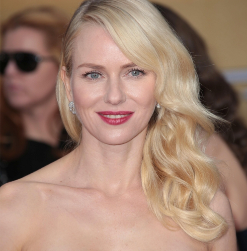 Naomi Watts Natural Hair Color