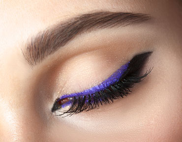 5 easy ways to wear colored eyeliner  tips  tutorials
